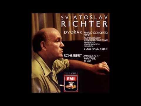 A. Dvořák Piano Concerto in G minor Op.33, Sviatoslav Richter