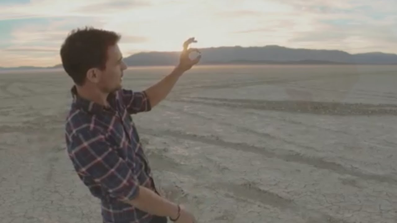 Pair make first to-scale Solar System model in Nevada desert