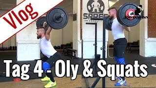 Tag 4 - Oly-Training & Squats (Wendler) | Vlog 10-Wochen-Diät