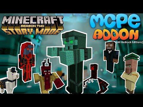 Minecraft Story Mode S2 Addon in Minecraft