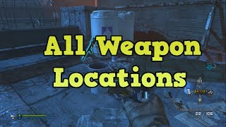 Cod Ghosts Extinction - All Weapons With Locations (point Of Contact)