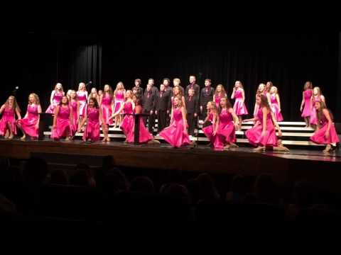 Otte Blair Middle School Odyssey Show Choir Preview 1/12/16.