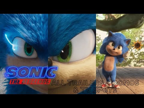 Sonic The Hedgehog (2019/2020) - All Trailers, Promos & TV Spots