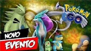 Confirmação Evento Pokémon GO - Segunda Geração ou Lendários?