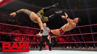 Ricochet vs. Robert Roode – Winner enters the Money in the Bank Ladder Match: Raw, May 6, 2019
