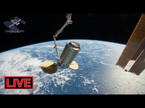 LIVE: Cygnus CRS-11 cargo freighter arrival at ISS!