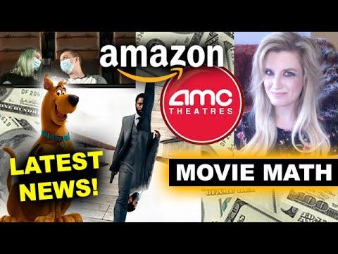 Amazon Buy AMC Theaters? Movie Theaters Reopen! Tenet & Scoob Release Dates
