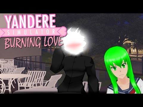 MIDORI GURINU DATES A DEMON | Burning Love (Yandere Sim VN)