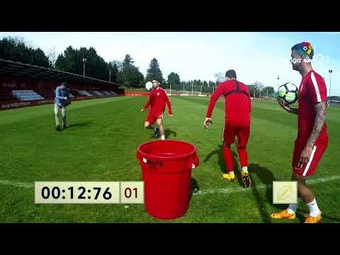 Keepy-uppy: Sporting de Gijón