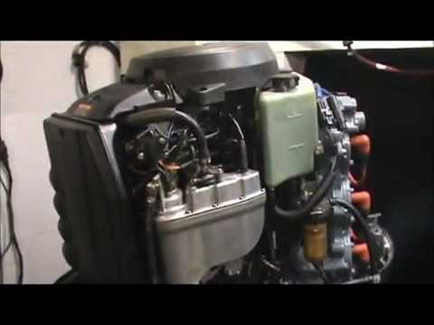 Yamaha Outboard engine 200hp OX66 fuel injected motorwmv - YouTube