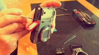 Panasonic Lumix Battery Door Replacement