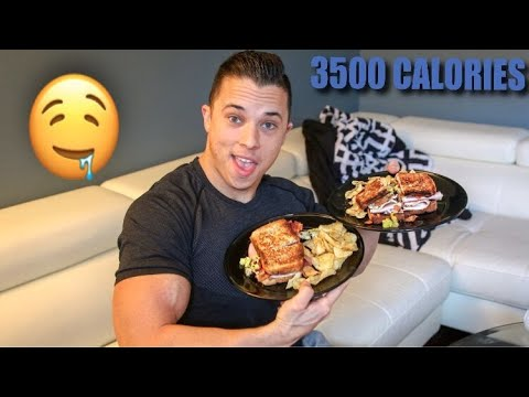 A Full Day Of Eating (3500 CALORIES)