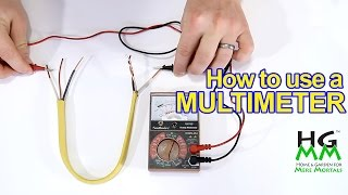 How to use a multimeter or voltmeter: Basics you need to know.
