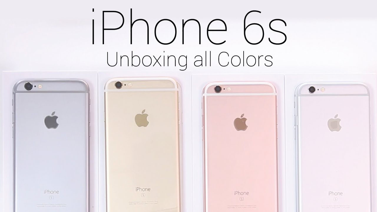 iphone 6 rose gold vs gold