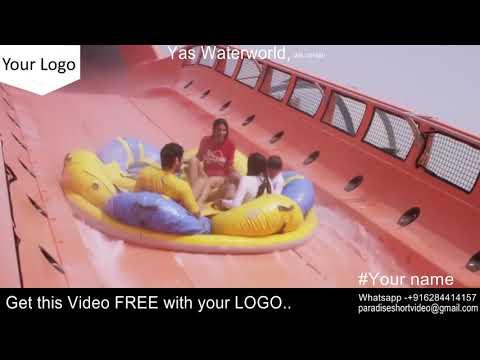 Dubai Yas Waterworld  –  Get it with your LOGO – FREE