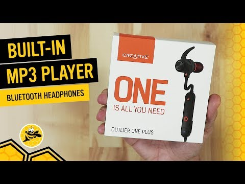 Creative Outlier ONE Plus Bluetooth Wireless Headphones with Built-in MP3 Player