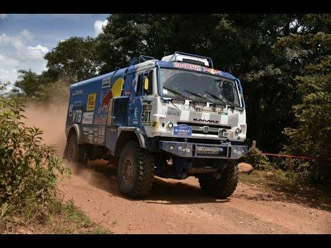 Show de camiones y autos en Paraguay - Rally Dakar 2017