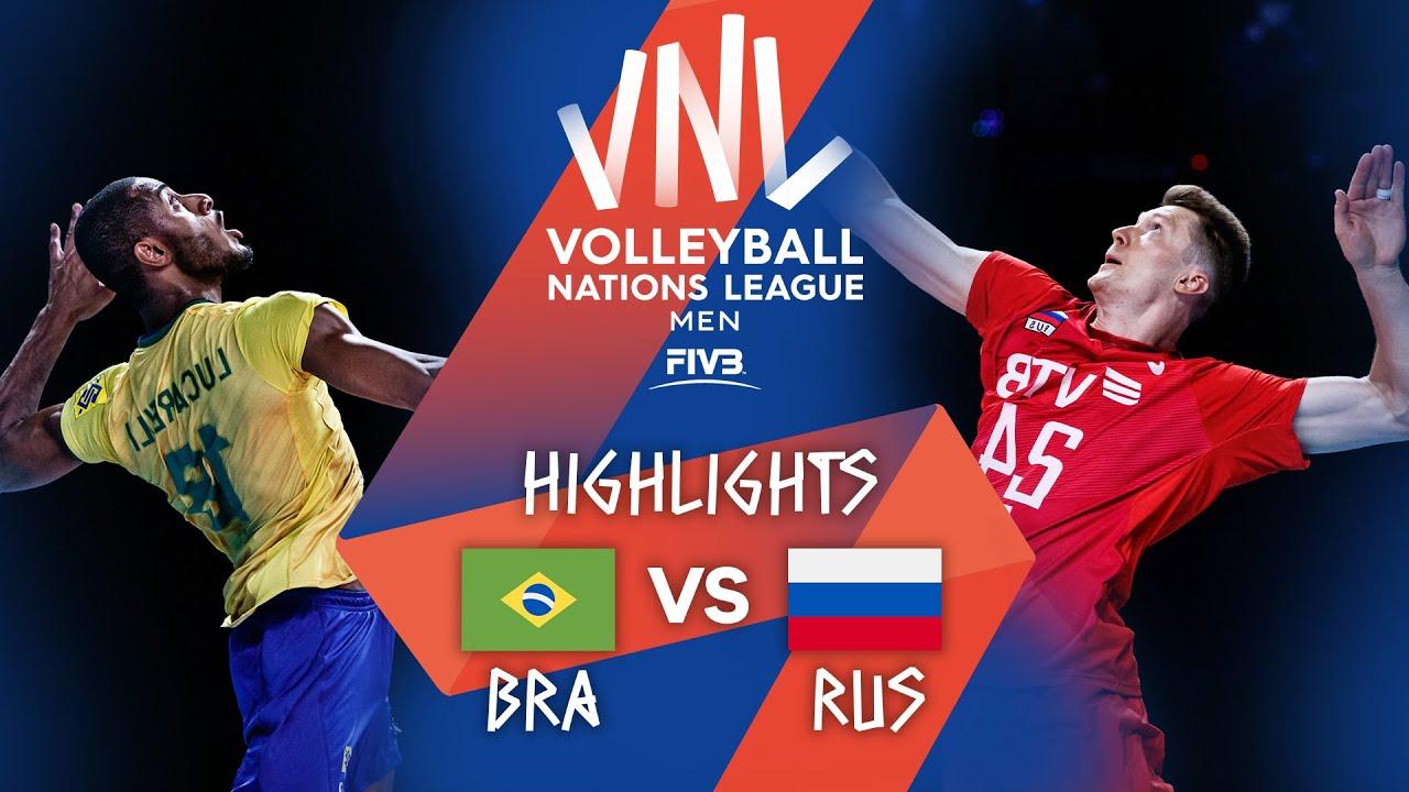 Download BRA vs. RUS - Highlights Week 5   Men's VNL 2021