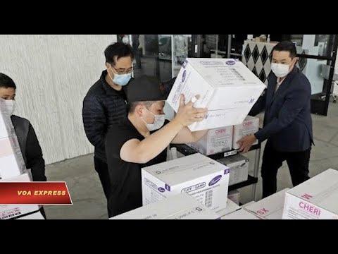 Các tiệm nail Việt tặng 'hàng trăm ngàn' đồ bảo hộ cho bệnh viện ở California (VOA)