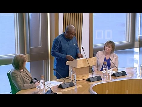 An Address by the President of the Republic of Ghana - Scottish Parliament: 17th March 2016