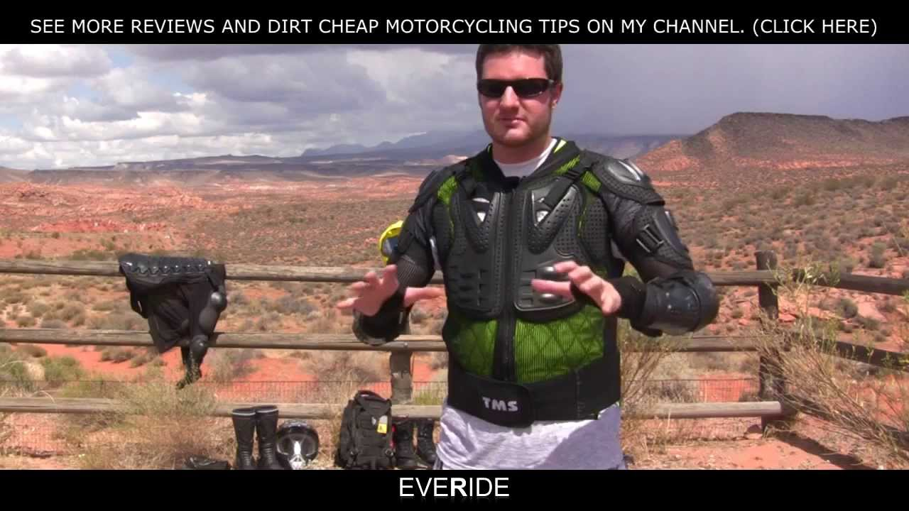 Best Motorcycle Armor >> o#o $40 Motorcycle Armored Jacket Review - Fox Titan ...
