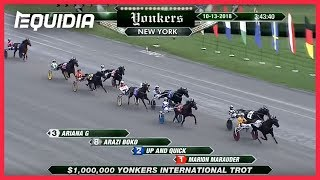 Vidéo de la course PMU YONKERS INTERNATIONAL TROT