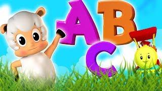 ABC Lied | lernen Alphabet | ABC für Kinder | Pädagogische Lieder | Kids Song | ABC Song In German