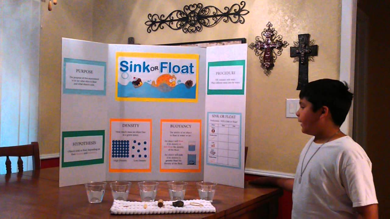 mason s sink or float science experiment youtube