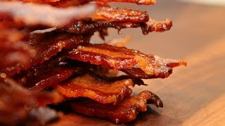 Bacon Jerky - gedörrter Millionaire´s Bacon