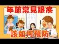 新聞放輕鬆 專訪 中國醫藥大學新竹附醫眼科主任 陳瑩山《 過年常見眼疾該如何預防》