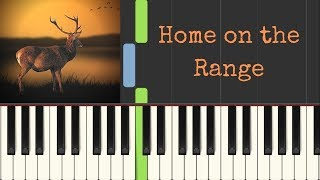 Home on the Range: easy piano tutorial with free sheet music
