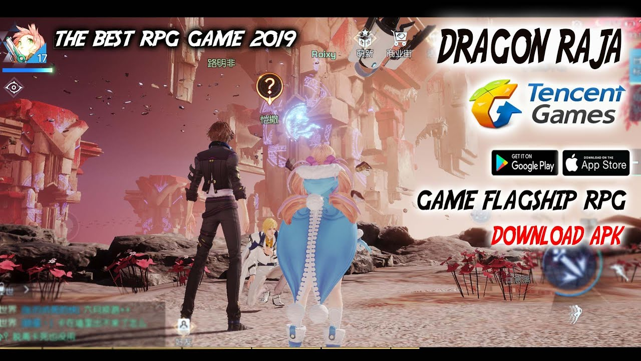 Game Flagship dari Tencent 😍 !!! Dragon RAJA (CBT) Android RPG Gameplay