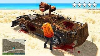 Stealing SIREN HEAD CARS In GTA 5 RP!