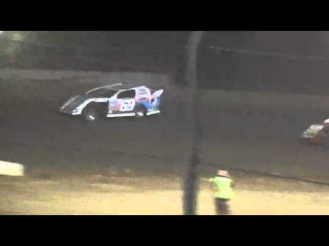 Ark La Tex Speedway Limited modified A feature part 2 cajun classic
