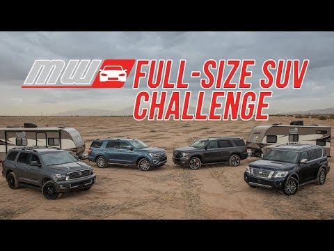 Comparison Test: 2018 Full Size SUVs