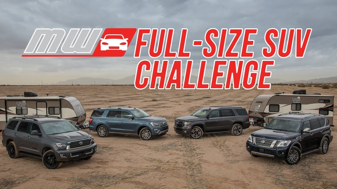 Comparison Test 2018 Full Size Suvs
