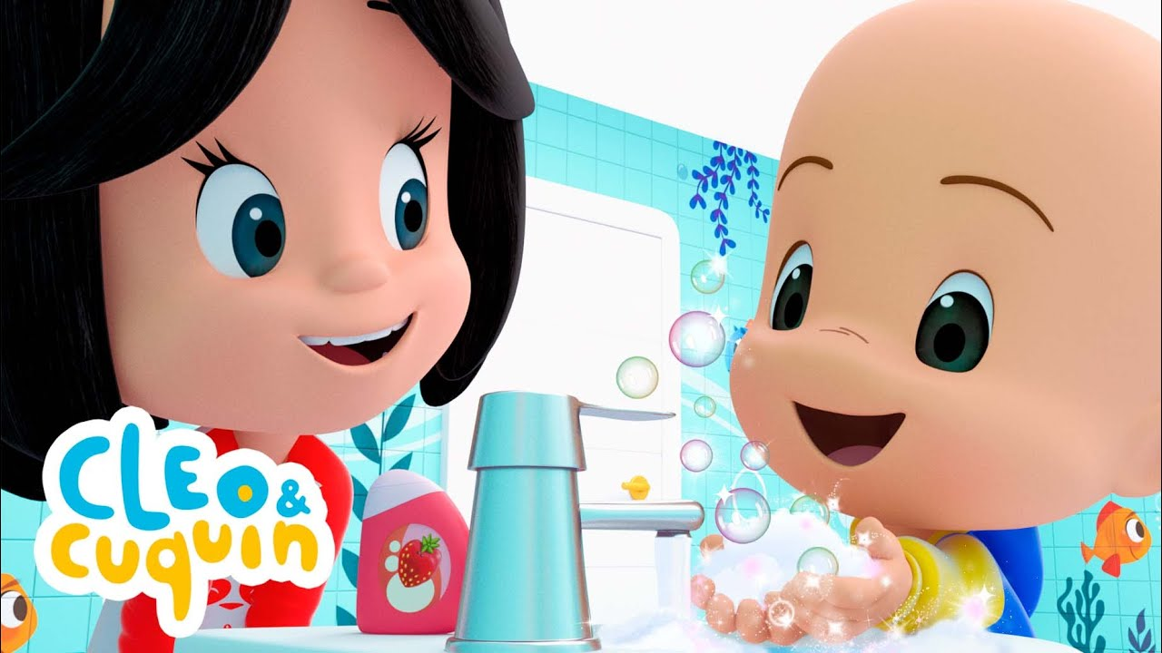 Download Always wash your hands 💦 - Nursery Rhymes of Cleo and Cuquin   Songs for Kids