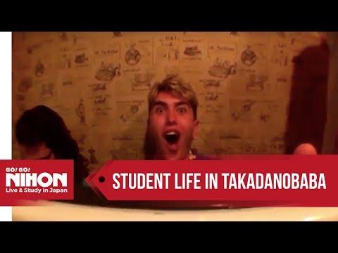 Student's life in Japan: Takadanobaba - YouTube