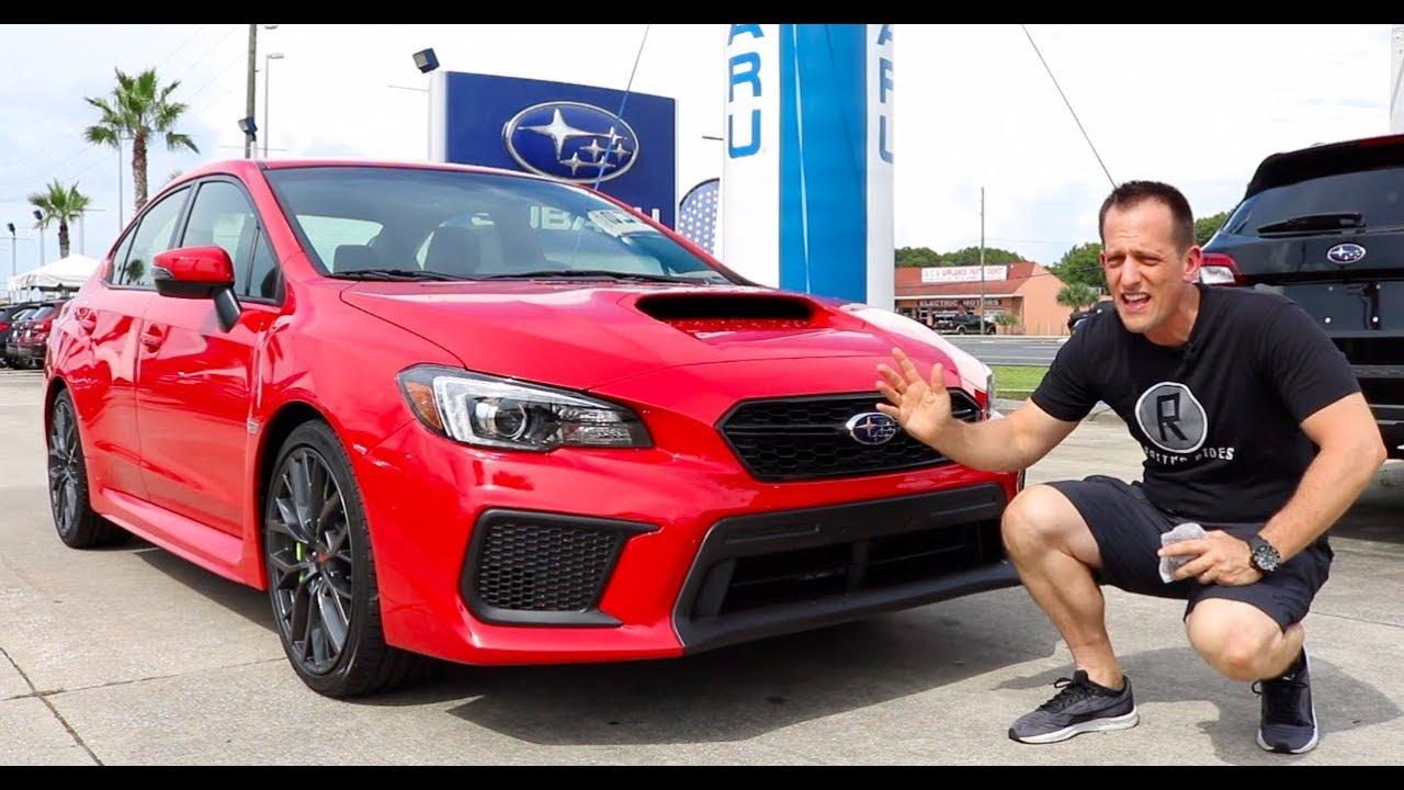 Why should you BUY a 2019 Subaru WRX STI Limited? - Raiti's Rides