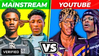Mainstream Rappers Vs. YouTube Rappers *2020 EDITION*