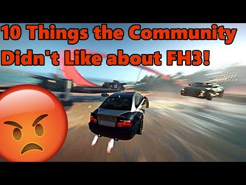 10 Things The Community Didn't Like About Forza Horizon 3