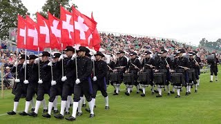 Top Secret Drum Corps from Switzerland at the City of Perth Salute Scotland 2018