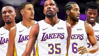 How LeBron James Can Beat the Warriors with Lakers!