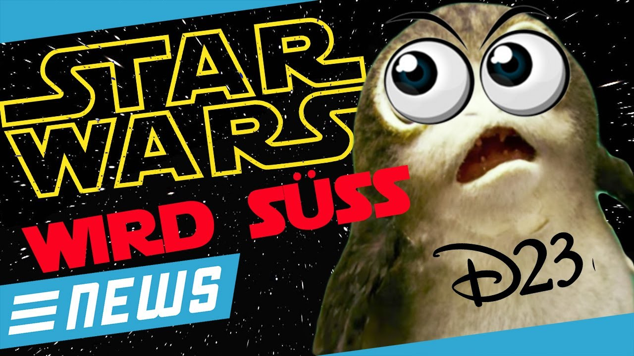Süße Aliens & Infinity War - Star Wars, Marvel, Disney D23 Update!