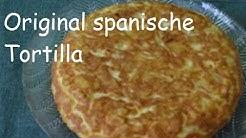 Original spanische Tortilla - eine leckere Tapa (vegetarisch, glutenfrei)