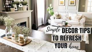 FARMHOUSE DECOR ROOM REFRESH | SPRING DECOR |Nesting Story