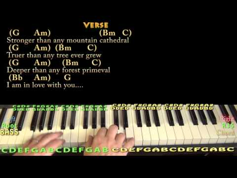 Longer (Dan Fogelberg) Piano Cover Lesson in G with Chords/Lyrics