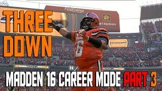 Madden NFL 16 Career Mode Running Back/QB Ep. 3 | Three Down | Madden 16 Career Let