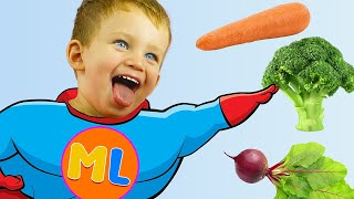 Yes Yes I Love Vegetables   MarkLand presents kid pretend play