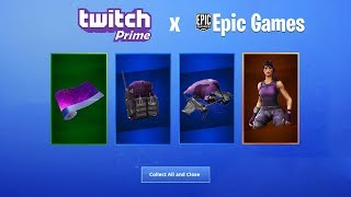 """TWITCH PRME PACK 3"" LEAKED in Fortnite (FREE Twitch Prime Skins)"